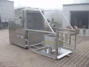 Машина для мойки тележек для фарша мкостью 200 л GBE Польша