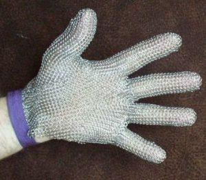 Кольчужные перчатки и фартуки Россия