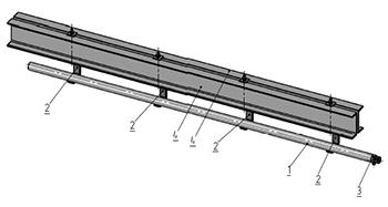 Подвесной трубчатый путь - схема