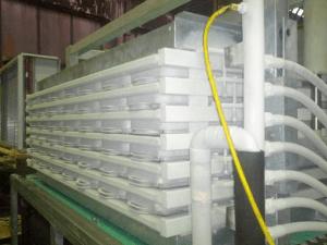 Горизонтальный скороморозильный плиточный аппарат HPF12