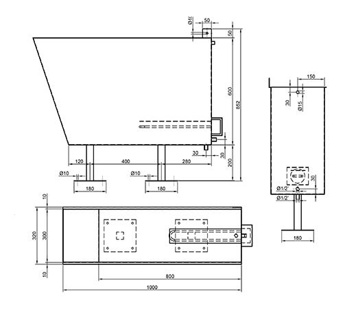 Стерилизатор для пилы - схема