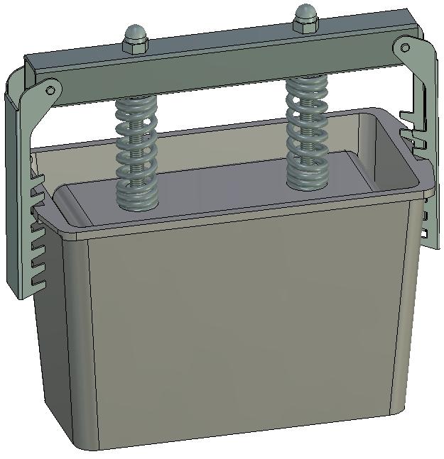 Пресс-форма Прямоугольная № 1 алюминий