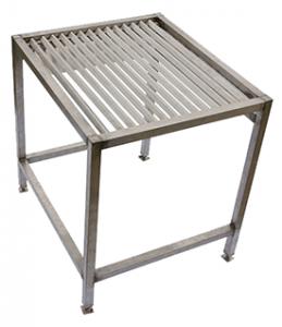 Стол опорожнения желудков с решеткой