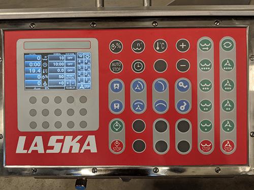 Вакуумный куттер LASKA KR 200-V2 - панель