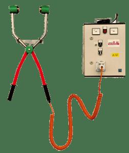 Электрические щипцы оглушения свиней TBG100