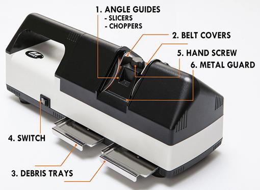 Устройство для заточки ножей KE-500 - описание