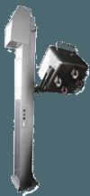 Подъемник-опрокидыватель для тележек (винтовой)